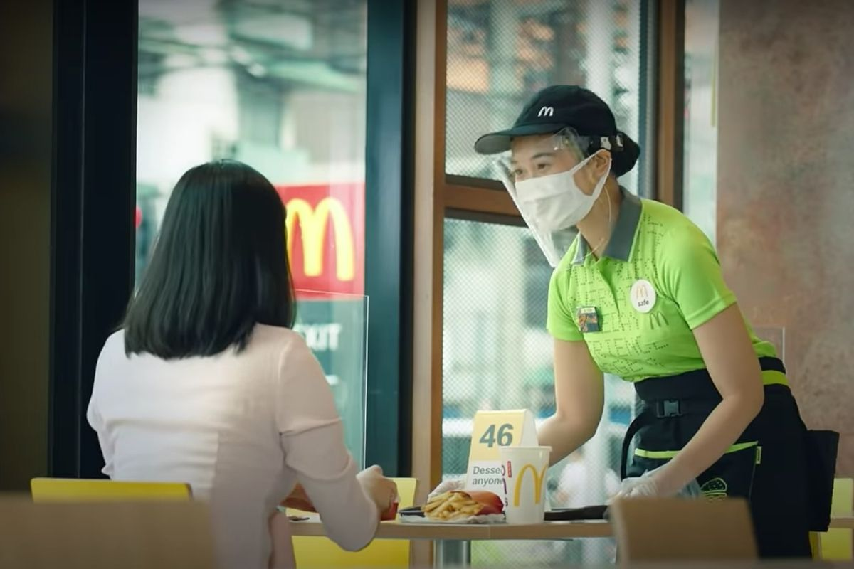 McDonald's reassures customers that best systems are in place for everyone's safety in its stores.