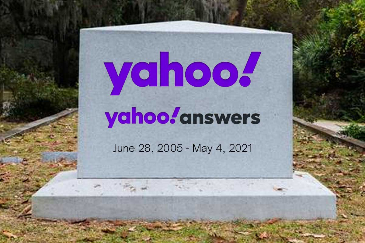 Yahoo Answers is shutting down on May 4th | SAGISAG PH