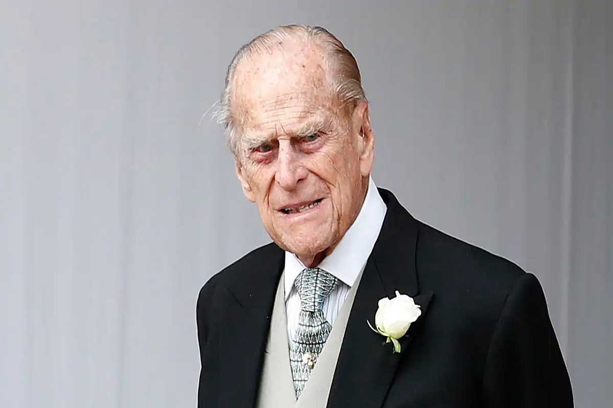 A GREAT LOSS FOR GREAT BRITAIN. Prince Philip, Duke of Edinburgh (1921 - 2021).
