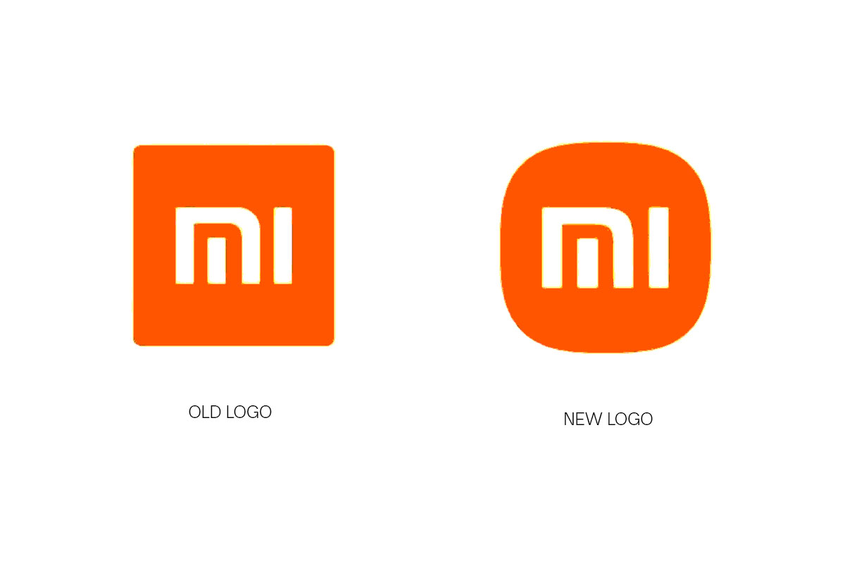 Xiaomi's old and new logomark | SAGISAG PH