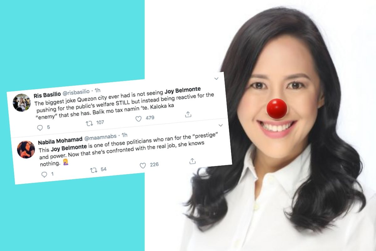 Mayor Joy Belmonte | Photos from Twitter