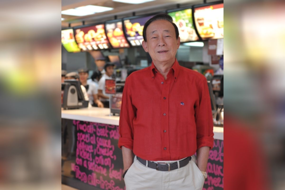 Dr. George T. Yang, Chairman and Co-Founder of McDonald's Philippines