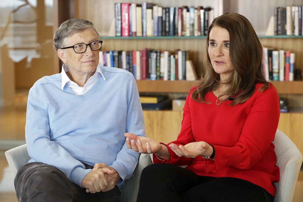 A BUZZ IN CHINESE SOCIETY. Bill and Melinda Gates' divorce sends shockwaves through China, where Bill Gates is admired as being a friend to the Chinese people. Photo Courtesy by NBC News.