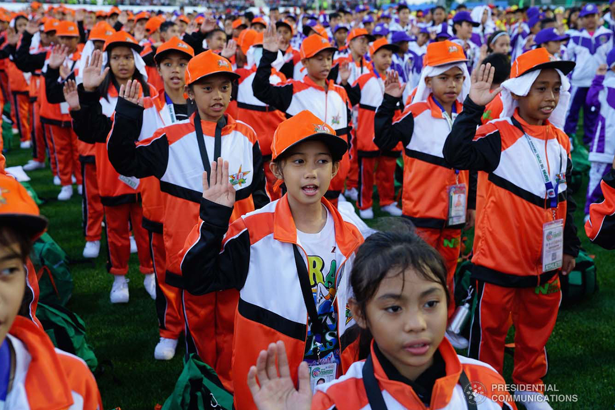 batang atleta young athletes filipino